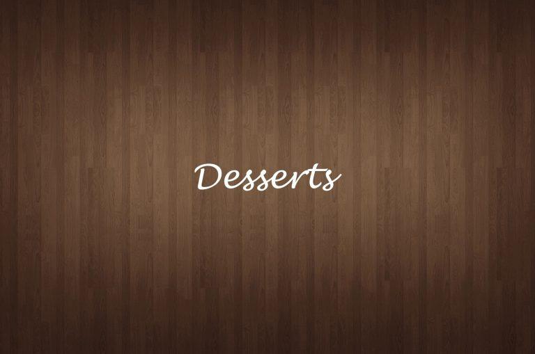 Desserts-a
