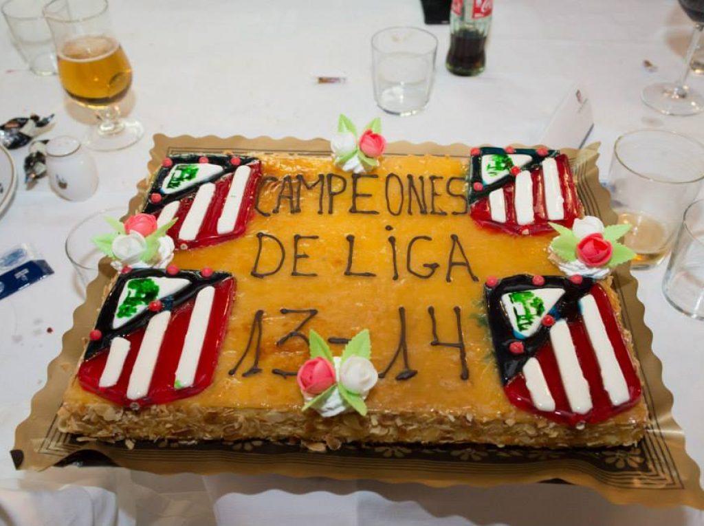 Celebración Liga 13-14