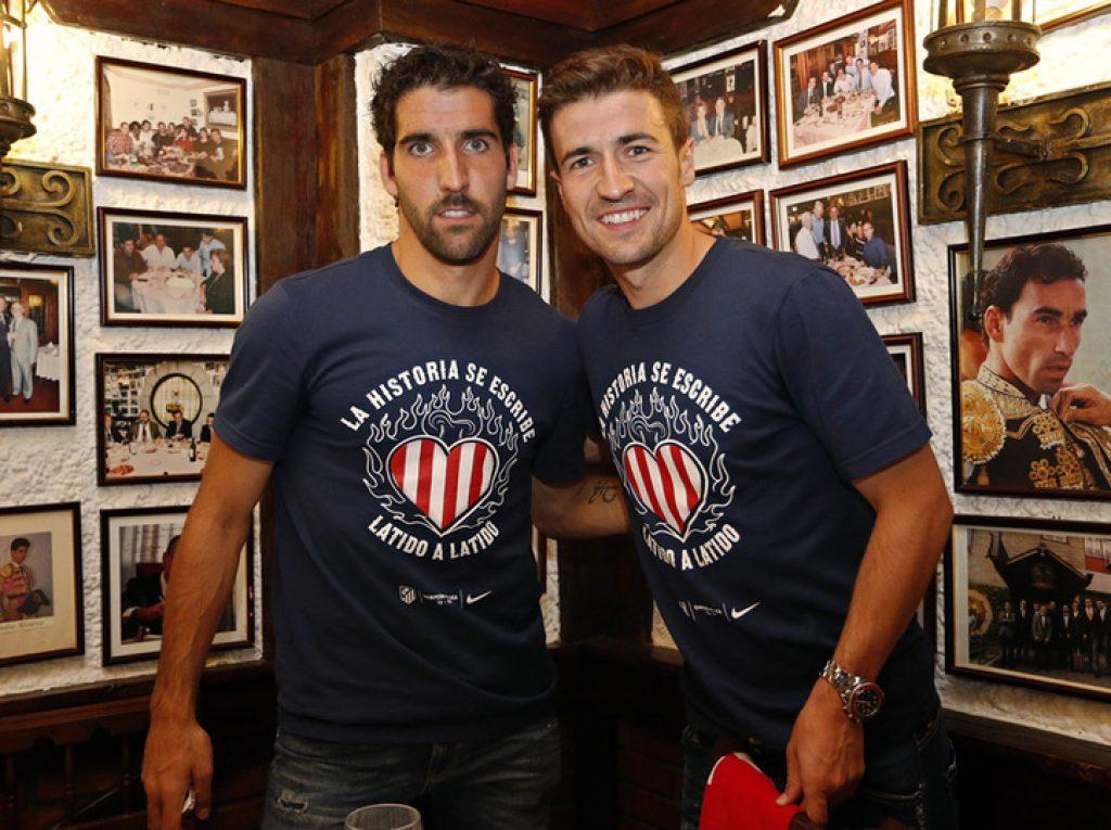 Raúl García y Gabi